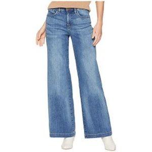 NYDJ Size 12 Wide Leg Jeans